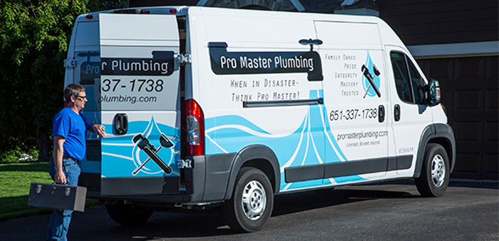Rebranding With Vehicle Graphics Helps Put Plumbing
