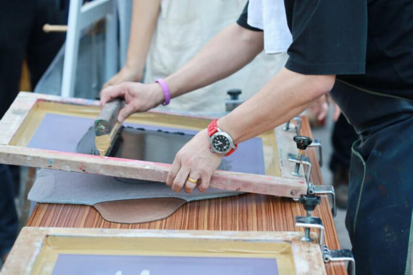 screen printing wood frame 1